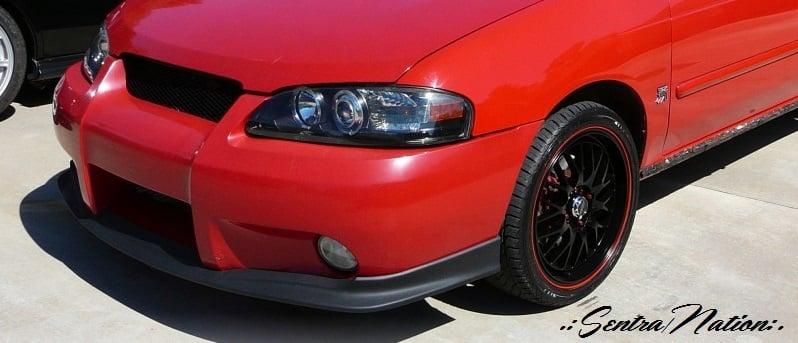 Image of (B15) 02-03 Sentra SER SE-R Spec-V Polyurethane Front Lip