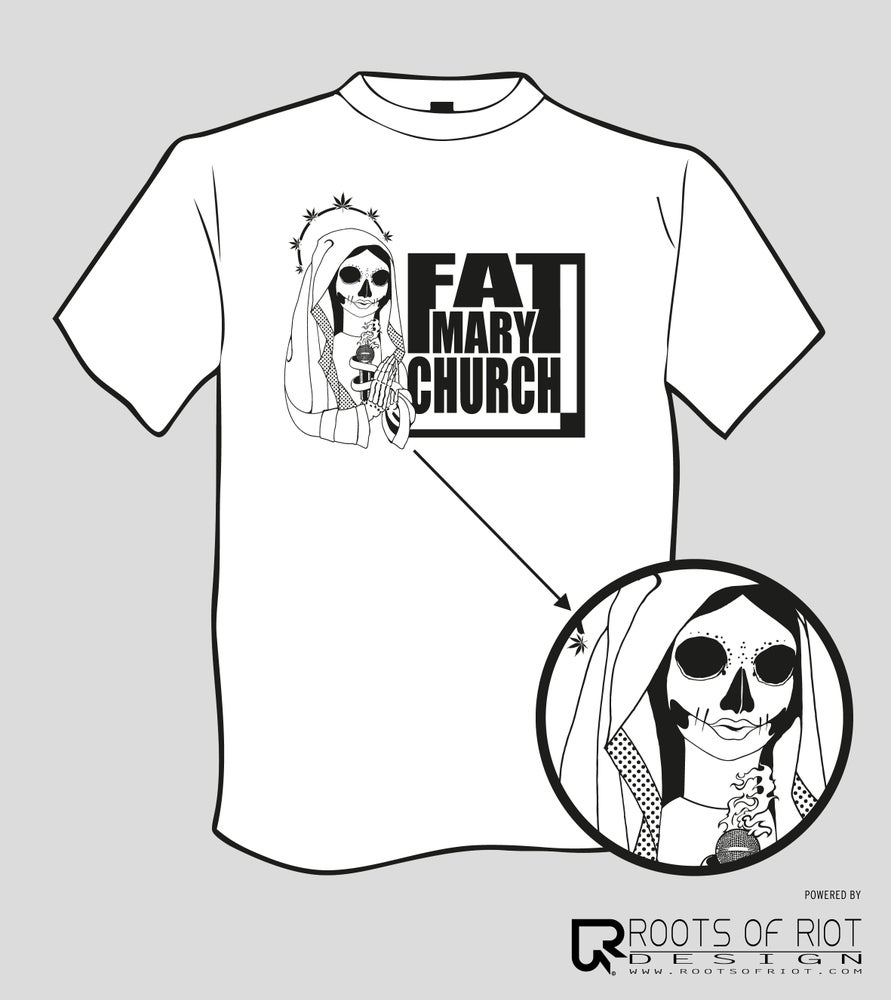 Image of t-shirt FAT MARY CHURCH