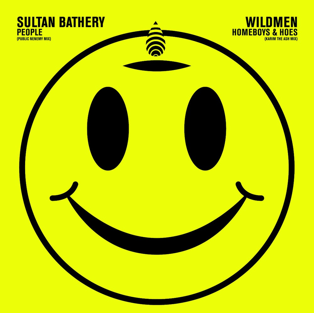 "Image of Wildmen / Sultan Bathery SPLIT 7"" *LAST COPIES ON COLOURED WAX*"