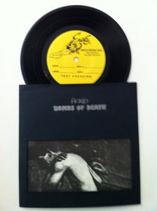 """Image of ACRID /BOMBS OF DEATH 7"""" TEST PRESS"""