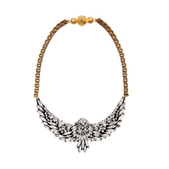 Collier Harlow Bird Jumble simple - Shourouk