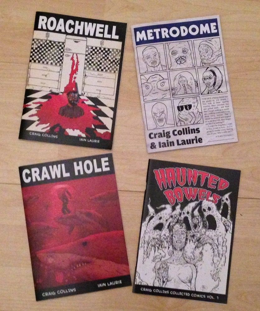 Image of ALL FOUR BOOKS - only £10!