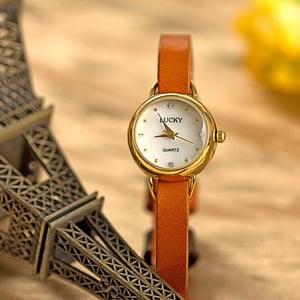 Image of Women Retro Leather Watch Vintage Style Wrist Watch (WAT00+3-1)