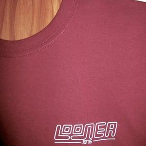 Image of Looner Tee Maroon