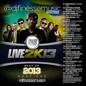 Image of RNB LIVE (BEST OF 2K13) MIX VOL. 1