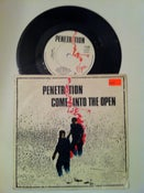 "Image of PENETRATION ""COME INTO THE OPEN"" B/W  ""LIFELINE"" 7"" 1979"