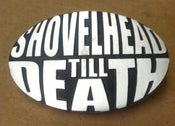 Image of Shovelhead Till Death Belt Buckle