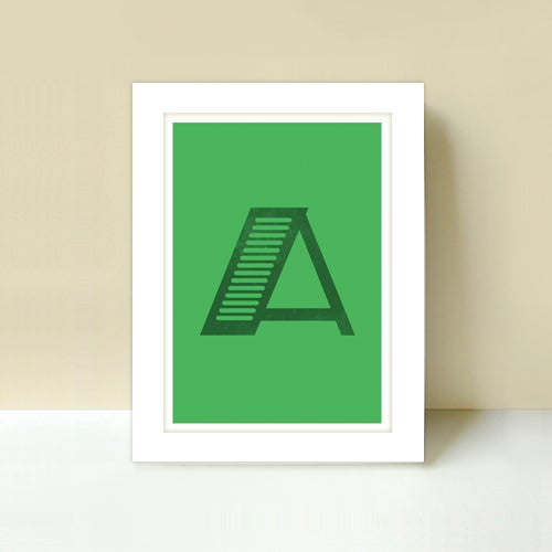 Image of Letter A