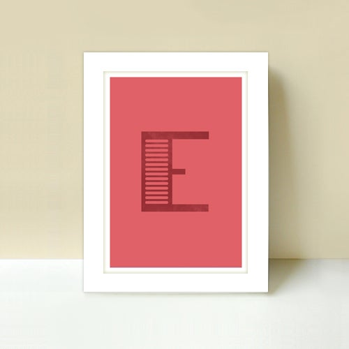 Image of Letter E