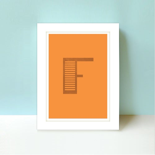 Image of Letter F