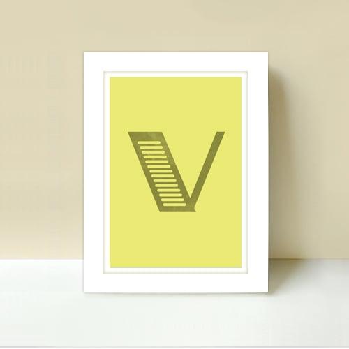 Image of Letter V
