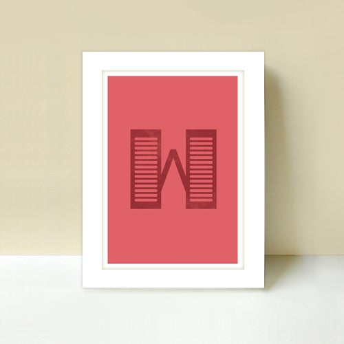Image of Letter W