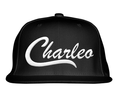 Image of The Original Charleo Snapback in Black/White