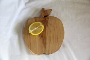 Image of Apple-Shaped Cutting Board