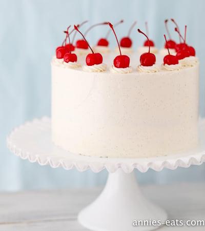 Cherry Vanilla Layer Cake - Gallery Wrap Canvas