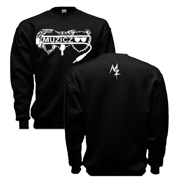 Image of Black L.T.B. Logo Crew neck Sweater