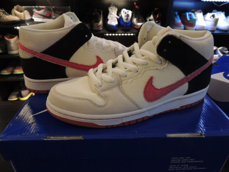 "Image of Nike SB Dunk Mid DS, Street Fighter ""Ryu"" SZ9 US"