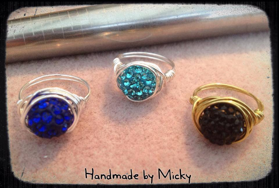 Image of Stunning Handmade Rings