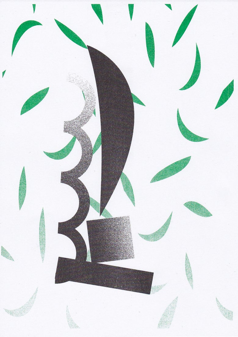 Image of James Clarkson Riso Print