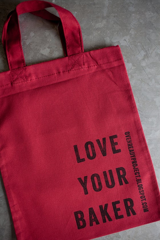 Image of Love Your Baker Sandwich Bag