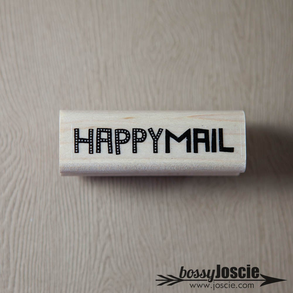 Image of Happy Mail Dots Stamp