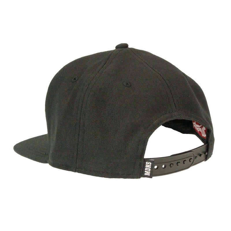 Image of Big Money Logo Snap Back (Blk/Blk)