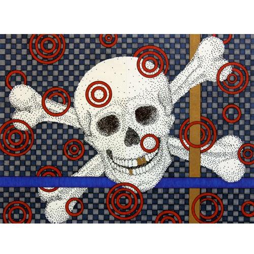 Image of Skull print 8x10