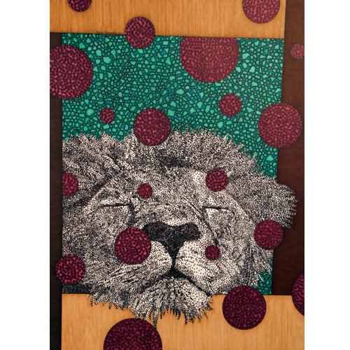 Image of Lion 8x10 print