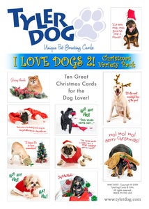 Image of I Love Dogs 2! Christmas Variety Pack