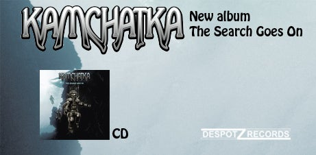 Image of Kamchatka - The Search Goes On (CD)