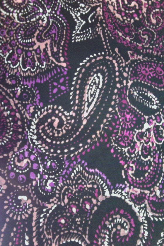 Image of Paisley Black and Pink