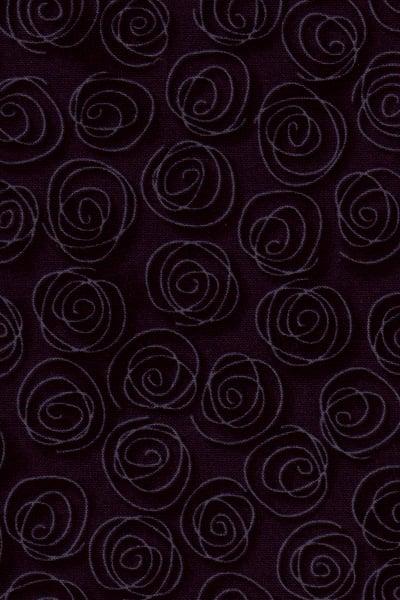 Image of Black Rose Swirl