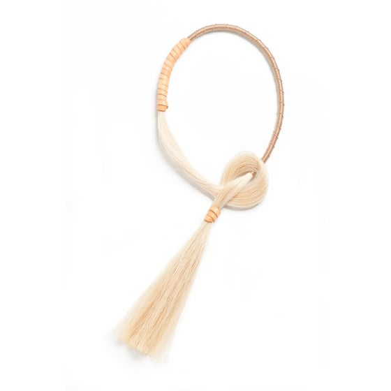Image of Ivory Tassel Necklace