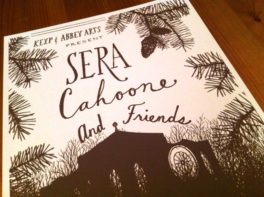 Image of Sera Cahoone & Friends at St. Mark's Cathedral