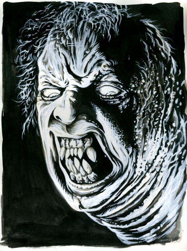 Image of The Thing Pen and Ink Original