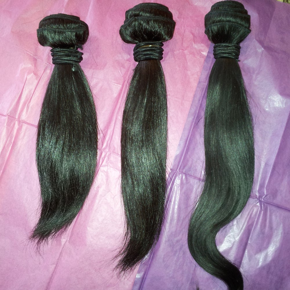Image of Malaysian Silky Straight Bundle Deals