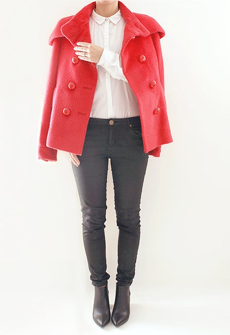 Image of By Malene Birger - Red Alpaca Blend Elma Jacket