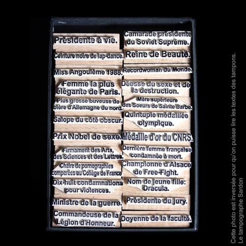 Image of Titres honorifiques (version féminine)