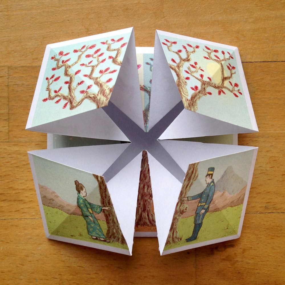 Image of Origami Comic