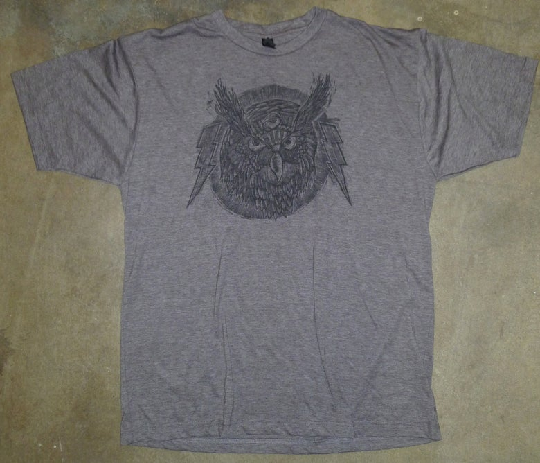 Image of Spirit Owl TCB Tee Heather Brown
