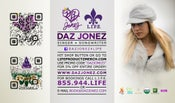 Image of DAZ JONEZ© ALL RIGHTS RESERVED BY DAZ INDUSTRIES MAGNET