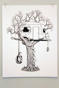 Image of Tree RV Poster