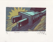Image of Electric Plug Lino-cut