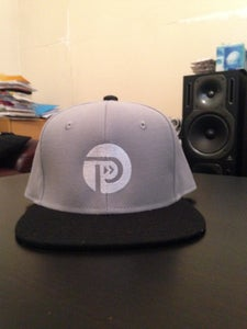 Image of LIGHT GREY Snapback Hat