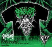 Image of BANISHMENT - Adverse Offering Tshirt GREEN