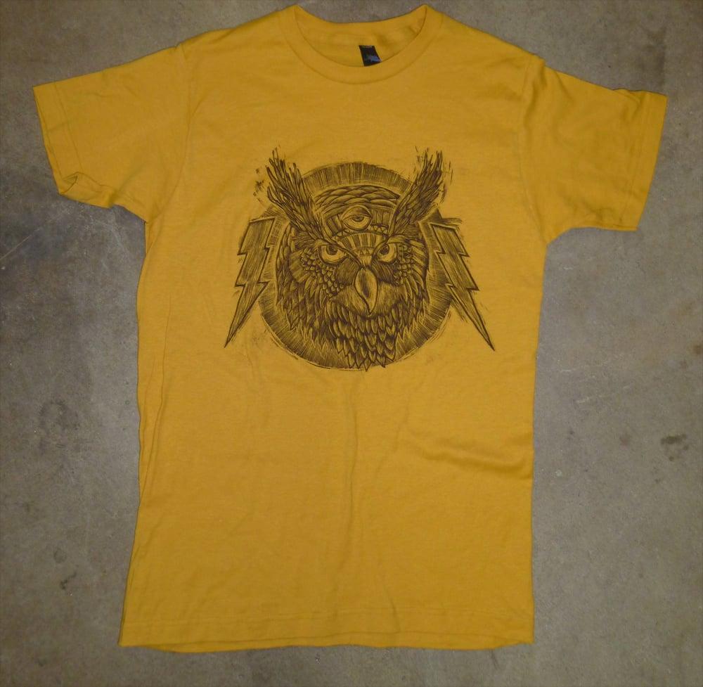 Spirit Owl TCB Tee Ginger Gold