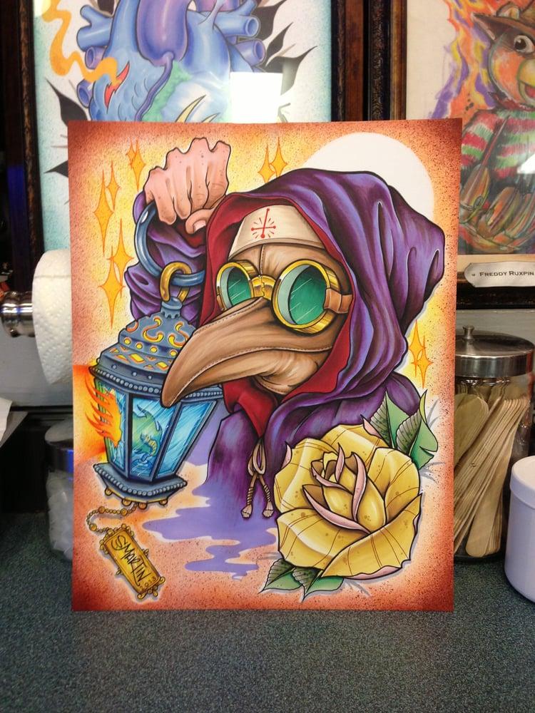 Image of Plauge Mask & Lantern