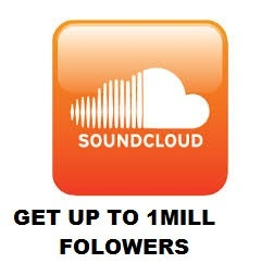 Image of GET UP TO 500 SOUND CLOUD FOLLOWERS