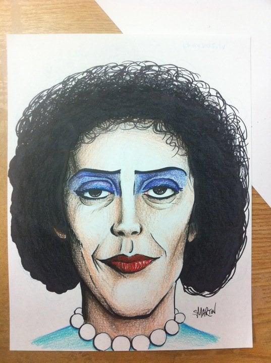 Image of Frankenfurter Sketch