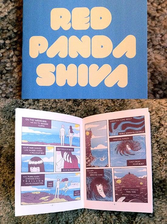 Image of Red Panda Shiva Mini Comic